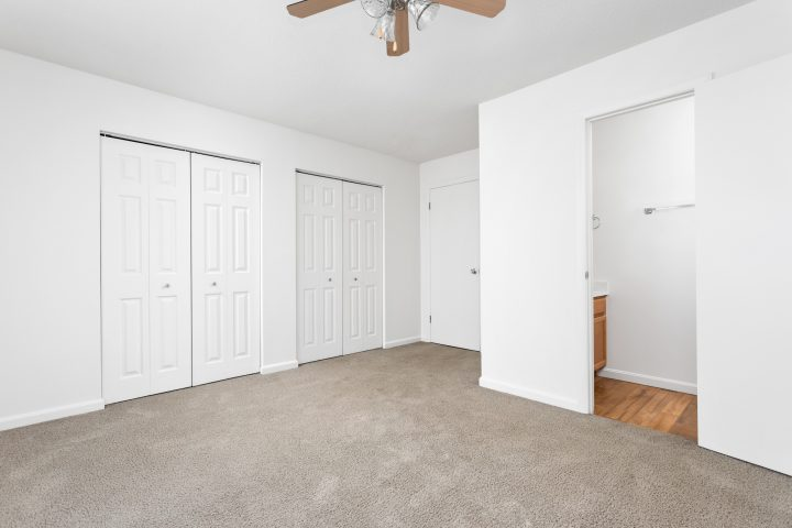 Amazing Closets and Ceiling Fans Throughout
